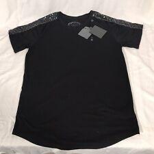 NWT ELVIS + JESUS Black Shirt Vincent Style Rock Legends XL **VERY UNIQUE**