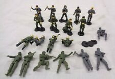 Galoob Army Gear Men Military Soldier Mini Micro 20 Figure Toy Lot Vintage 1988