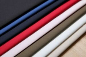 """HEAVY WEIGHT FINE WEAVE 100% Cotton Twill Fabric, 60"""" WIDE, SOLD BY METRE"""