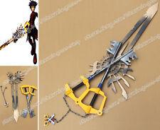 Kingdom Hearts Birth By Sleep Cosplay Vanitas X-blade 135CM Keyblade Prop Weapon