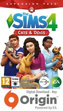 THE SIMS 4 CATS & DOGS EXPANSION PACK PC AND MAC ORIGIN KEY