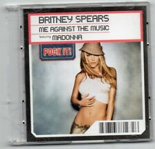 """BRITNEY SPEARS FEATURING MADONNA CD POCK IT 3"""" """" ME AGAINST THE MUSIC """" 2T  2003"""