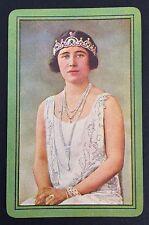 Vintage Swap/Playing Card - QUEEN ELIZABETH - THE QUEEN MOTHER