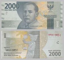 Indonesien / Indonesia 2000 Rupiah 2016 Nationalhelden unz.