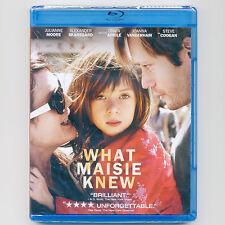 What Maisie Knew 2012 R movie, new Blu-ray Henry James, Julianne Moore Vanderham