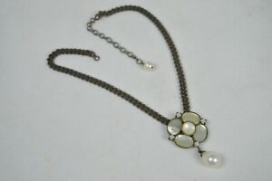 Vintage Mother of Pearl Necklace - Philippe Ferrandis of Paris