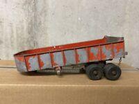 Hubley Kiddie Toy 508 Dump Trailer (500 series)-  RED.   10421