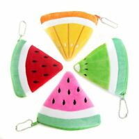 Pocket Wallet Plush Small Gifts Simulation Watermelon Money Bags Storage Pouch