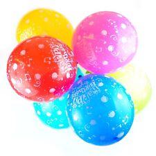 Paquete de 25,4-30,5cm Globos Cumpleaños - Látex Feliz Fiesta Estampado (Música)