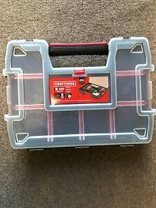 CRAFTSMAN 10-Compartment Plastic Small Parts Organizer New