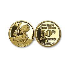 Disney Gold Snow White 50th Anniversary - Dopey 1/4 oz Gold Medal SKU#6912