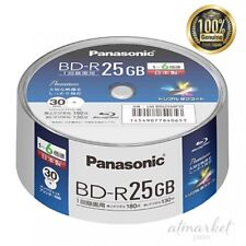 Panasonic 6 × speed BR disc Single side 1 layer 25 GB LM - BRS 25 MP 30 JAPAN