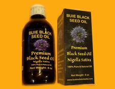 2 -- 8 Oz  Bottles Buie Black Seed Oil Nigella Sativa 4%THYMOQUINONE ANTI-VIRUS