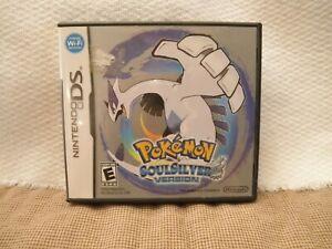 Nintendo DS Pokemon SoulSilver Version Box/Case Only