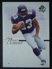 NFL 76 Michael Bennett Minnesota Vikings Upper Deck 2002 SP Authentic