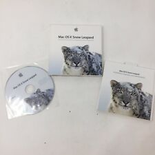 Mac OS X Snow Leopard 10.6 Retail Version Apple MC223Z/A DVD Package B2A