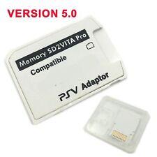 New V5.0 SD2VITA PSVSD Pro Adapter For PS Vita Henkaku 3.60 Micro SD Memory Card