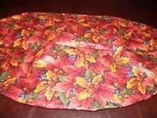 Longaberger 1995 Shades of Autumn Basket of Plenty Basket Liner - Fall Foliage