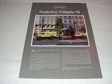 W/4/13/1 Modellauto Auto Katalog Prospekt Roskopf Miniaturmodelle Neuheiten 1991