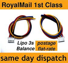 Lipo Balance Lead for repairing battery pack 3s JST-XH male 3-cell, 11.1V, 22AWG
