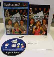Console Gioco Game SONY Playstation 2 PS2 Play PAL WORLD POKER TOUR 2K Sports
