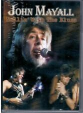 "JOHN MAYALL ""Rollin' with the blues"" DVD LIVE IN CONCERT Nuovo Sigillato"