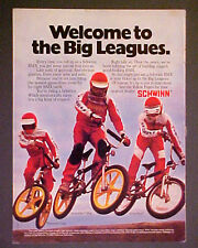 1981 Schwinn Phantom~Scrambler~BMX Racing Vintage Kids~Boys Bicycles Bikes AD