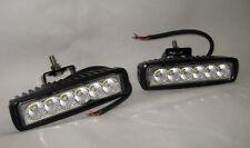 Work Lamps Pair of Universal Rectangular LED 12/24V 18w  Wipac S7118LED