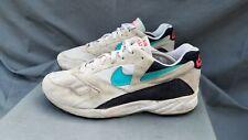 OG Nike Air Icarus 1993 White / Jade / Black / Crimson Sneakers Sz-10.5 US