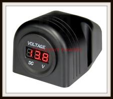 Heavy Duty Surface Mount LED Voltmeter Aerpro Apdch8 12/24 Volt LED Display