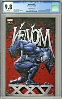 Venom #25 CGC 9.8 Clayton Crain Variant Cover A Edition KRS Black Flag Comics