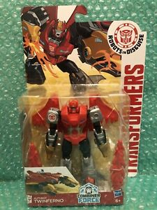 Transformers RID Robots In Disguise Twinferno Warrior Class Combiner Force. New