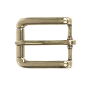 "1"" (25 mm) Nickel Free Single Prong Rectangular Roller Belt Buckle"