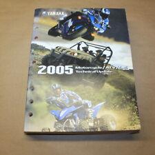 Yamaha 2005 Motorcycle/Atv/SxS Technical Update Service Bulletin Manual Book Oem