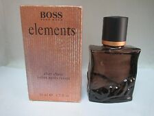 Boss Elements by Hugo Boss for Men  Aftershave Lotion 1.7 Fl Oz RARE