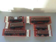 6 Kleinbahn boxed wagons. 300 305 323 331 340 349