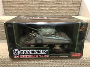 Ultimate Soldier/Motorworks 1:18 U.S. M4 Sherman Tank With Driver, No. 312