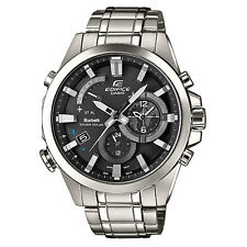 Casio Edifice EQB-510D-1AER Mens Watch Solar Bluetooth Alarm Chronograph