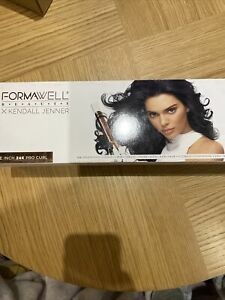 FORMAWELL Beauty X Kendall Jenner Curling Iron - White & Rose Gold