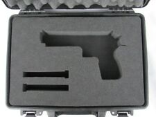 COBRA FOAM INSERTS Pelican Case 1470 Custom Foam Insert For Desert Eagle Handgun
