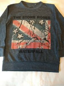 Boys x 2 NEXT Stone Roses T-shirts.1 1/2 -2 Years l/sleeve. 2-3 Years s/sleeve.