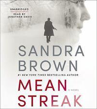 Sandra Brown MEAN STREAK Unabridged CD *NEW* FAST Ship in CARTON!