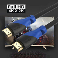 Ultra HD High Speed HDMI v2.0 Cable 2160p 3D 4K DVD HDTV PS4 XBOX One Lot