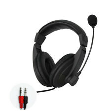 3.5mm Headset Headphones with Microphone Mic for Computer PC Gaming-Stereo Skype