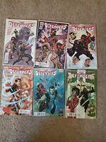 The Defenders #1,2,3,4,5,6 Marvel Comics Matt Fraction Terry Dodson Lot Nm