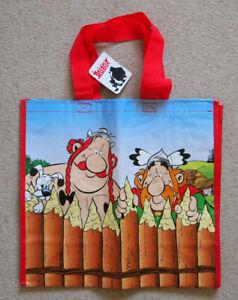 Asterix - Reusable Supermarket Shoppiug Bag - Super U - 44cms x 41cms - Ref 001