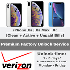 PREMIUM UNLOCK VERIZON SERVICE IPHONE FOR XS XS MAX XR FINANCED CONTRACT