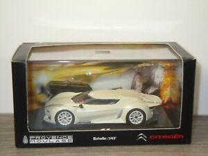 Citroen GT Salon de Paris 2008 - Norev 1:43 in Box *53509