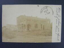 Golden Gate Illinois IL Hoffee Storefront Real Photo Postcard RPPC 1907 Doane