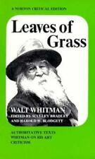 Leaves of Grass (Norton Critical Edition)